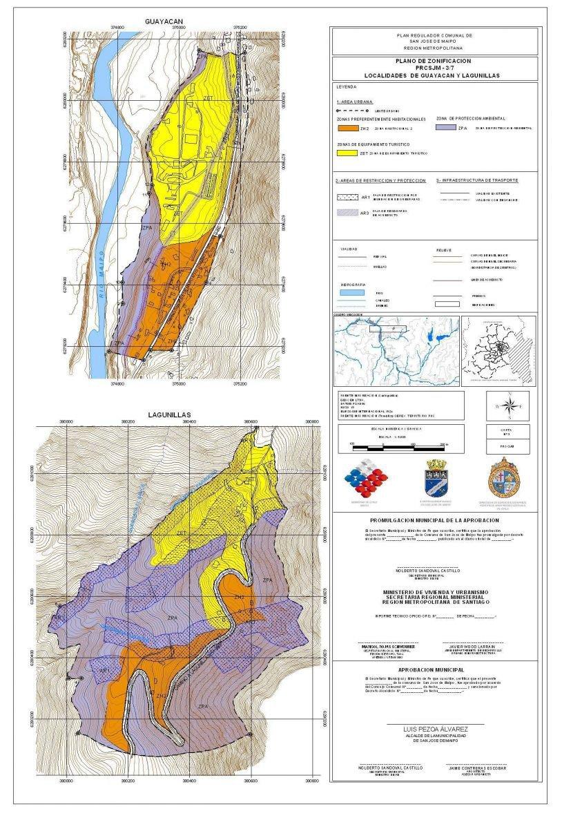 zon_pl3_LPA: Localidades de Guayacán y Lagunillas